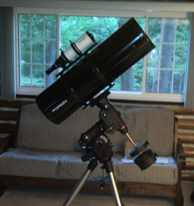 Orion 10 inch f/3.9 astrograph and Celestron CGEM mount