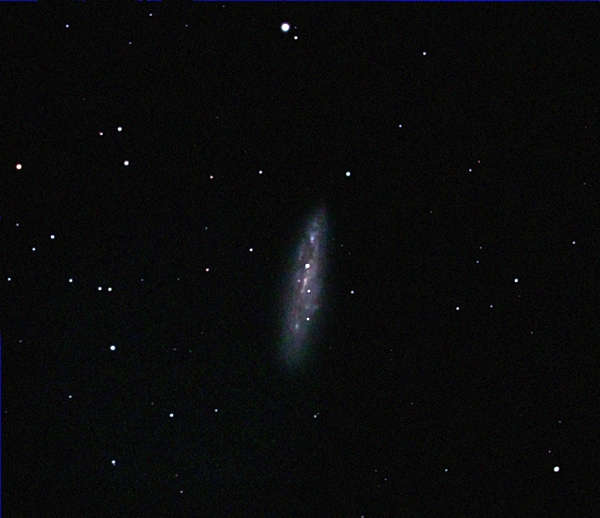 M108; mag 9.9; size 8.6x2.4'; exp 19-min(45s subs); 60Da @ISO3200; C8 @f/6; guided - 50mm; 3-31-14; Hainsport