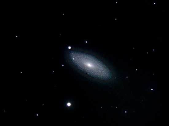 NGC2841 Mag 10; size 7.8 x 3.7'; exp 38 min (76 x 30 sec); ISO1600; LX200 10 @ f/2.4; 1-10-10; Hainesport
