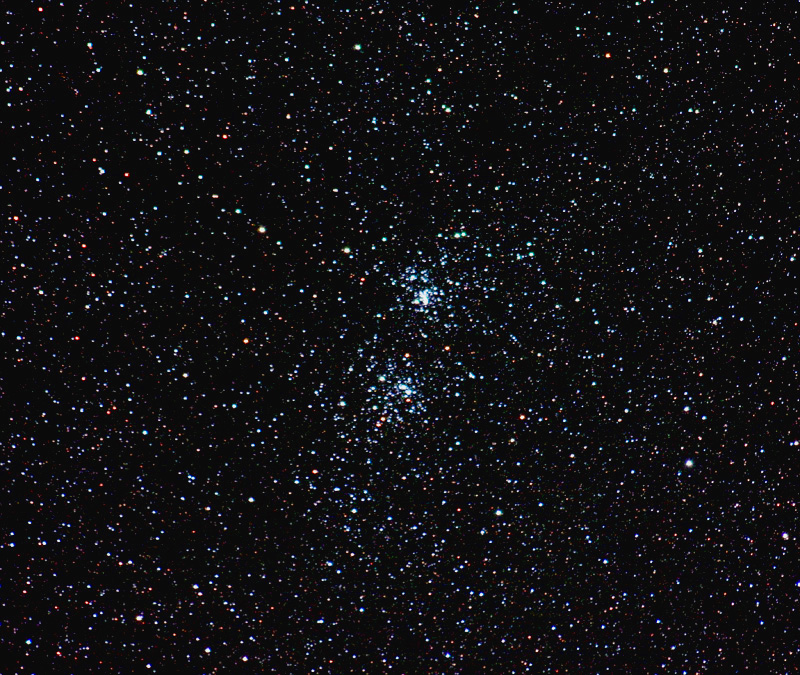 NGC 884; Double Cluster in Per; 5min; Sigma lens @190mm; f/4.8; ISO 3400; 9-21-06; Coyle