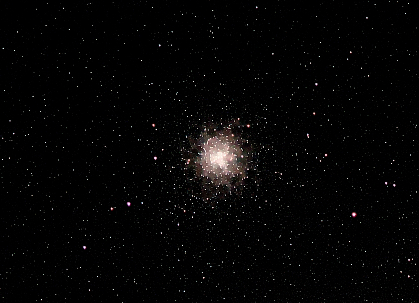 M4; size 36'; mag 5.4; Cropped from Antares area shot